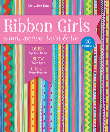 Ribbon Girls - Wind Weave Twist & Tie: Dress Up Your Room - Show Team Spirit - Create Pretty Presents
