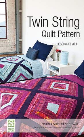 Twin String Quilt Pattern by Jessica Levitt