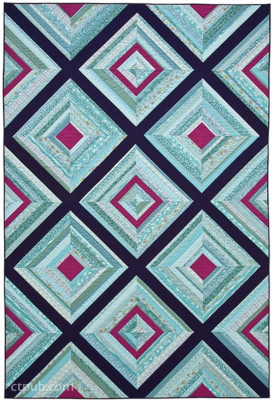 Twin String Quilt by Jessica Levitt