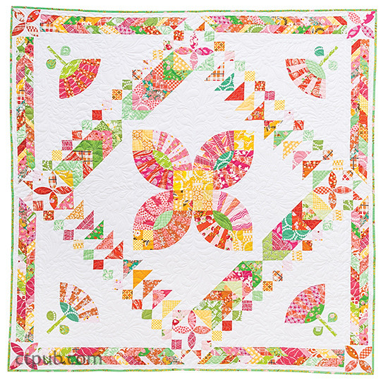 Quilt from The Modern Medallion Workbook