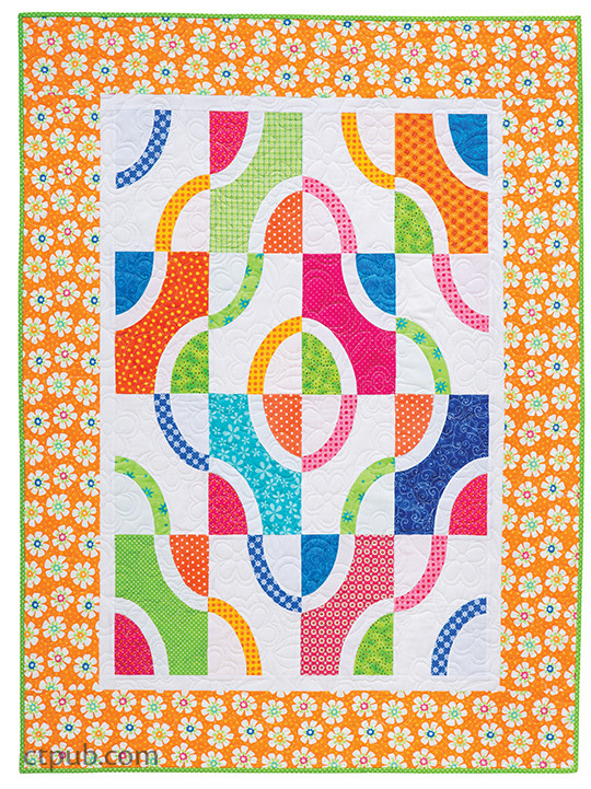 Flip & Fuse Quilts: 12 Fun Projects • Easy Foolproof Technique • Transform Your Appliqué! by Marcia Harmening