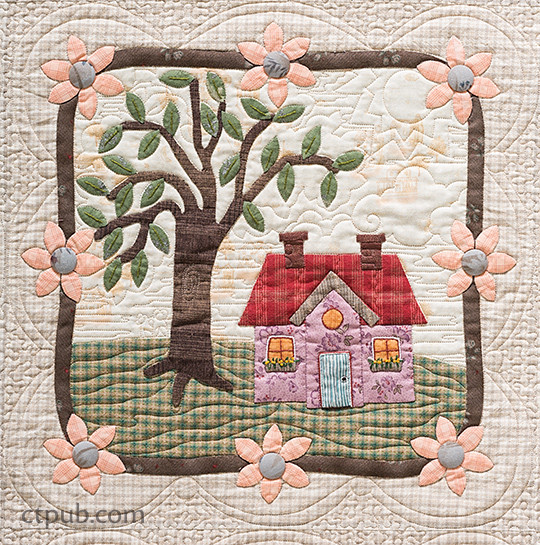 My Cozy Village: 9 Quilt Blocks to Appliqué & Embroider by Felicia T. Brenoe