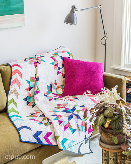 Scrap Patchwork: Traditionally Modern Quilts • Organize Your Stash to Tell Your Color Story by Sandra Clemons
