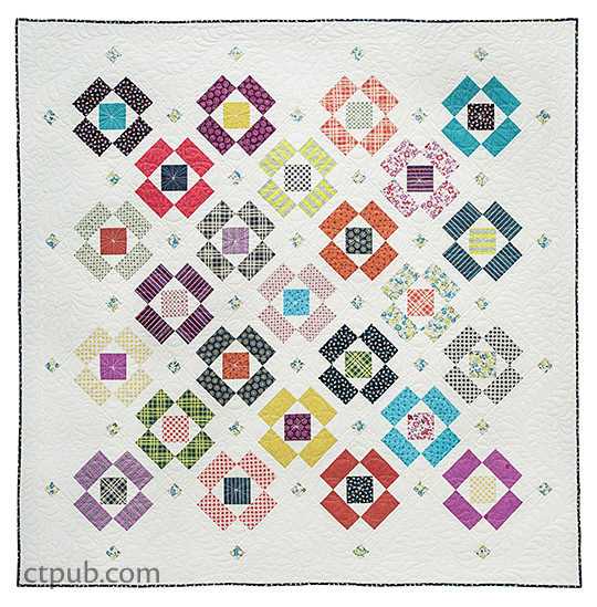 Modern Indian Summer Quilt by Sherri McConnell