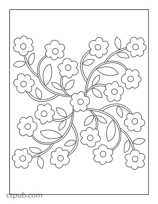 Blooming Sanctuary Coloring Book: 3 Books in 1 Illustrated by Geta ...