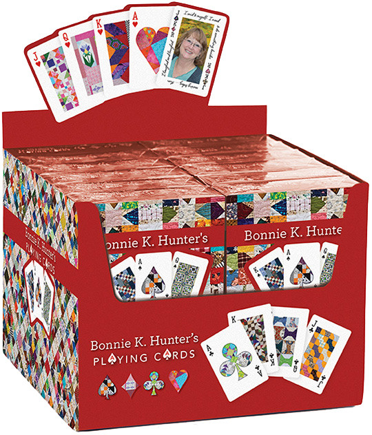 Bonnie K. Hunter's Playing Cards POP Display