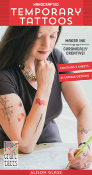 Alison Glass - Handcrafted Temporary Tattoos: Maker Ink for the Chronically Creative!