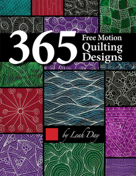 365 Free Motion Quilting Designs by Leah Day