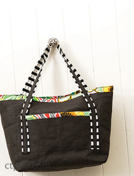 kraft-tex Lined Tote Bag Free Project