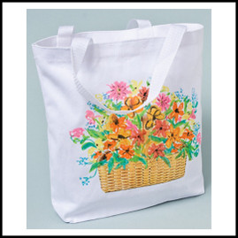 Free Project: Garden Tote Bag with TAP
