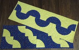 Snake and Wave Table Runners Free Project