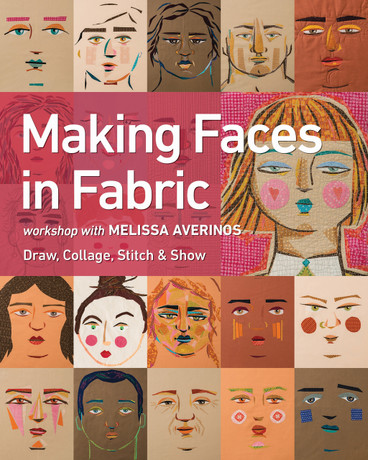 Follow Melissa's step-by-step process, from sketch to stitch to finished project, to create a variety of facial features in just the right proportions.
