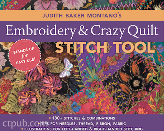 Free-Form Embroidery with Judith Baker Montano: Transforming ...