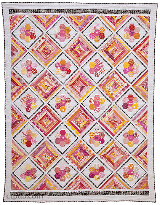 Hexa-Go-Go: English Paper Piecing • 16 Quilt Projects by Tacha Bruecher