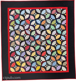 Free Pattern for the Bowties Quilt from A New Spin on Drunkard's Path