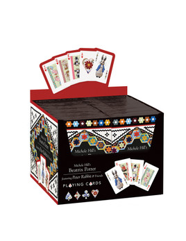 Michele Hill's Beatrix Potter Playing Cards POP Display