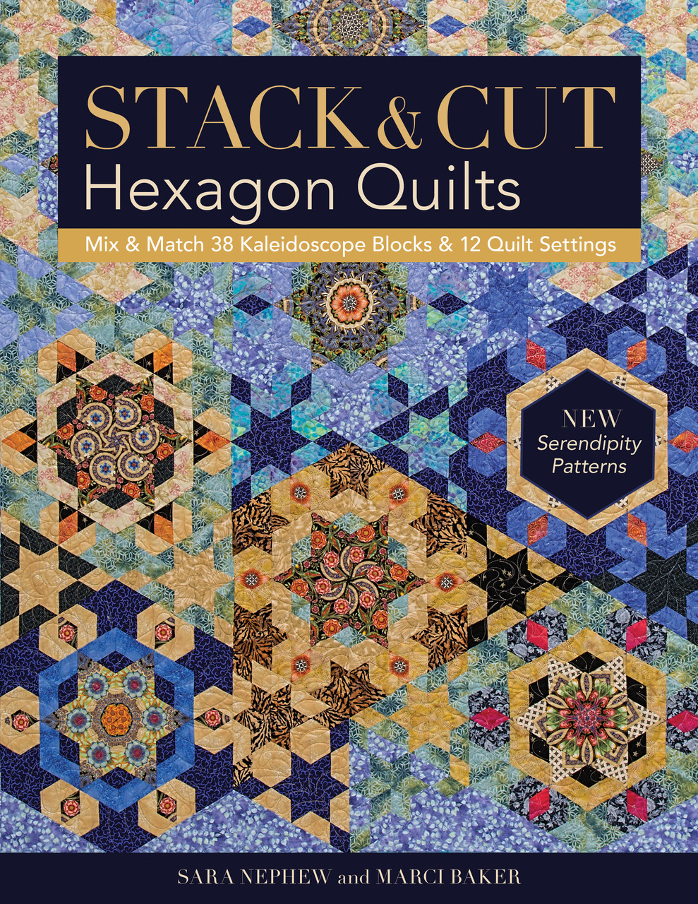 Stack & Cut Hexagon Quilts - C&T Publishing : large hexagon quilt - Adamdwight.com