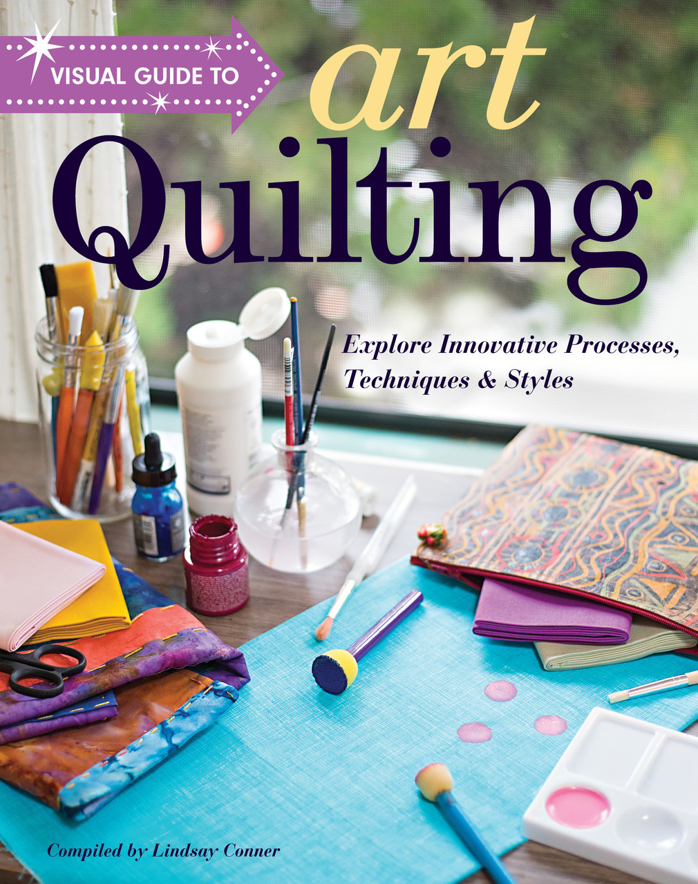Start on the path to art quilting success! For anyone inspired to make art quilts, this visual reference will help you gain the practical tools and inspiration you need to translate your ideas to fabric. Get an intro to surface design (including dyeing and printing on fabric), embellishing quilts, working in a series, and quilting by hand and machine, all from some of the biggest names in quilting arts, with step-by-step photos and illustrations.