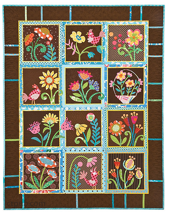 My Whimsical Quilt Garden from Piece O' Cake Designs, Becky Goldsmith & Linda Jenkins