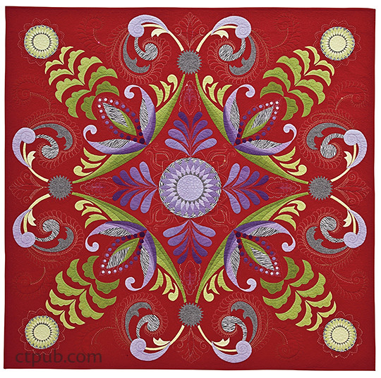 Mastering the Art of Longarm Quilting: 40 Original Designs • Step-by-Step Instructions • Takes You from Novice to Expert by Gina Perkes