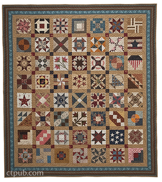 Brackman's Civil War Sampler: 50 Quilt Blocks with Stories from ... : quilt civil war - Adamdwight.com
