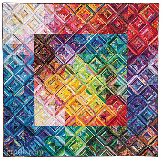 Color Play, Second Edition: Expanded & Updated • Over 100 New Quilts • Transparency, Luminosity, Depth & More by Joen Wolfrom #ColorPlay