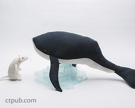 This is Mouse An Adventure in Sewing by Brenna Maloney  #ThisisMouse #ctpublishing #funstitchstudio #kidsewing #toys #softies #whale