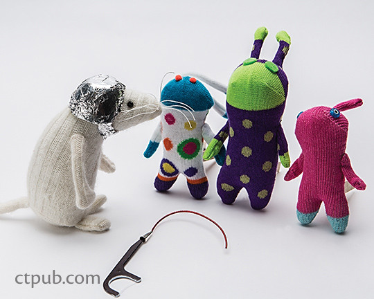 This is Mouse An Adventure in Sewing by Brenna Maloney  #ThisisMouse #ctpublishing #funstitchstudio #kidsewing #toys #softies #aliens #outerspace
