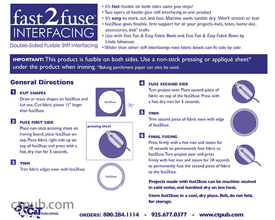fast2fuse Interfacing instructions