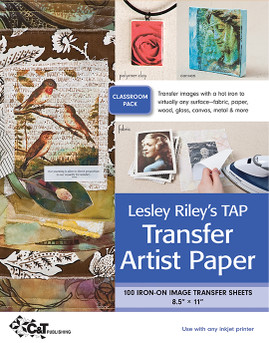 Lesley Riley's TAP Transfer Artist Paper Classroom Pack