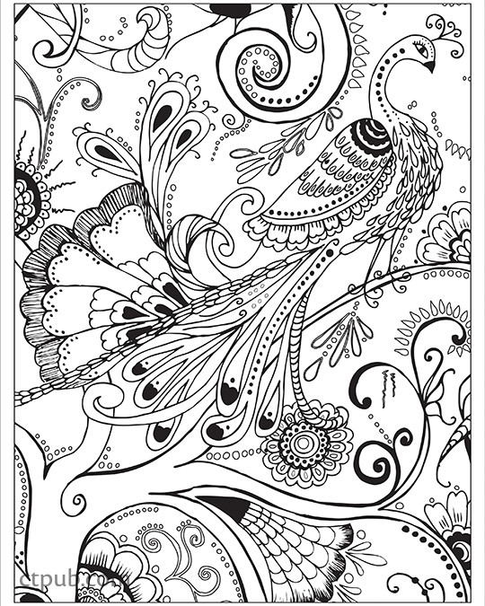 Boho Designs Coloring Book 18 Fun See How Colors Play Together Creative