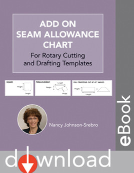 Add On Seam Allowance Chart Download