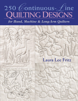 250 Continuous-Line Quilting Designs Print-on-Demand Edition
