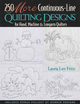 250 More Continuous-Line Quilting Designs Print-on-Demand Edition