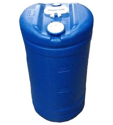 GREIF PIK-15 Gallon Tight Head Poly Drum Blue