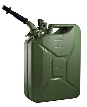 Jerry Can 20L GREEN EPA/CARB APPROVED - SOLD WITH NOZZLE