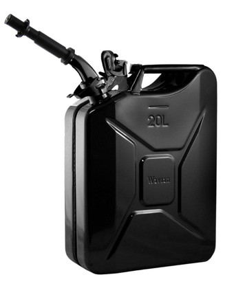 Jerry Can 20L Black EPA/CARB APPROVED
