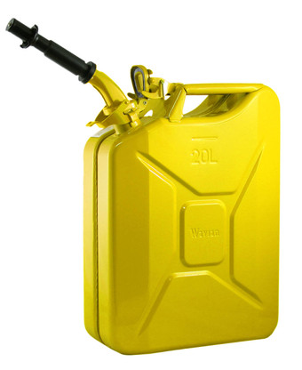 Jerry Can 20L Yellow EPA/CARB APPROVED