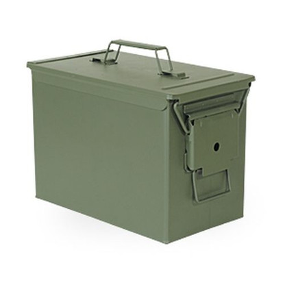 New Fat 50 Ammo Can OD Green