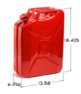 Jerry Can 20L Red