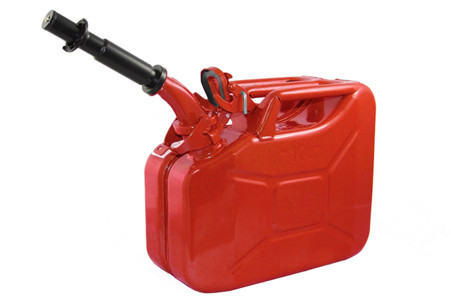 Jerry Can 10L RED EPA/CARB APPROVED - SOLD WITH NOZZLE
