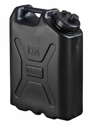 Scepter Military Water Can 20L BLACK