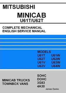 Mitsubishi minicab u62t wiring diagram