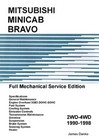 Mitsubishi Minicab-Bravo Full Mechanical Service Manual JD-8