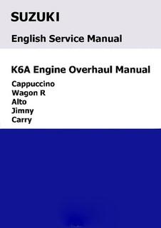 suzuki k6a engine overhaul manual jd 17 mactown mini