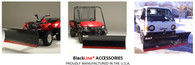 Black Line Snow Plow