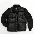 KG1650405 - PU LEATHER BOMBER JACKET