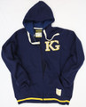 KG151003 FLEECE ZIP HOODY NAVY
