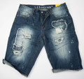 KG2344 TERRAIN CUT Denim Shorts