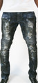 KG2506 DIRTY MOTOR BIKER DENIM JEAN
